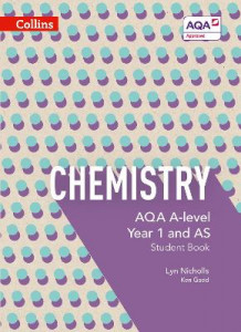 AQA A Level Chemistry Year 1 and AS Student Book: AQA A Level Chemistry Year 1 and AS Student Book av Lyn Nicholls og Ken Gadd (Heftet)