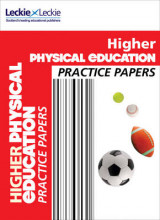 Omslag - CfE Higher Physical Education Practice Papers for SQA Exams