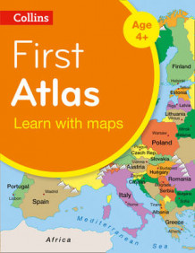 Collins First Atlas av Collins Maps (Heftet)