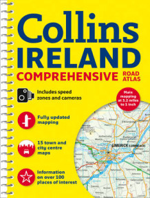 Comprehensive Road Atlas Ireland av Collins Maps (Spiral)