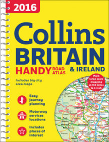 2016 Collins Handy Road Atlas Britain av Collins Maps (Spiral)