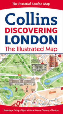 Discovering London Illustrated Map av Dominic Beddow (Kart, falset)