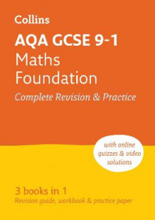 Collins GCSE Revision and Practice - New Curriculum: AQA GCSE Maths Foundation Tier All-in-One Revision and Practice av Collins GCSE (Heftet)