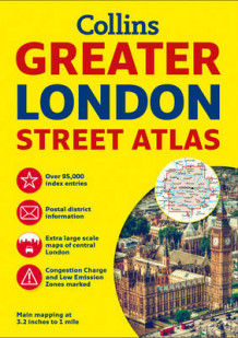 Greater London Street Atlas av Collins Maps (Heftet)