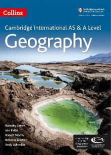 Collins Cambridge AS and A Level: Cambridge AS and A Level Geography Student Book av Barnaby J. Lenon, Iain Palot, Robert Morris, Rebecca Kitchen og Andy Schindler (Heftet)