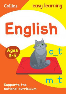 Collins Easy Learning Preschool: English Ages 4-5 av Collins Easy Learning og Carol Metcalf (Heftet)
