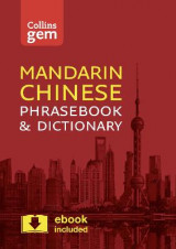 Omslag - Collins Mandarin Phrasebook and Dictionary: Collins Gem Mandarin Phrasebook and Dictionary: Essential Phrases and Words in a Mini, Travel Sized Format