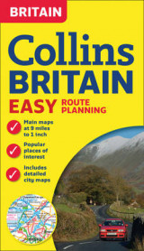 Omslag - Collins Britain Easy Route Planning Map