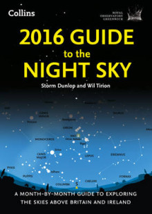 2016 Guide to the Night Sky av Greenwich Royal Observatory, Storm Dunlop og Wil Tirion (Heftet)