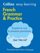 Omslag - Easy Learning French Grammar and Practice