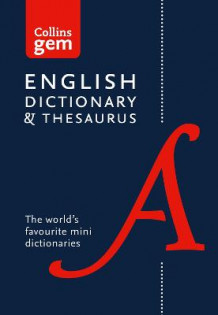 Collins Gem: Collins English Dictionary and Thesaurus Gem Edition: Two Books-in-One Mini Format av Collins Dictionaries (Heftet)