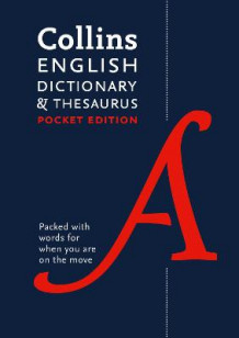 Collins English Dictionary and Thesaurus Pocket edition av Collins Dictionaries (Heftet)