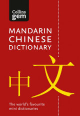 Omslag - Collins Gem Mandarin Chinese Dictionary: Collins Mandarin Chinese Dictionary Gem Edition: Trusted Support for Learning, in a Mini-Format