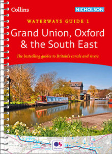 Grand Union, Oxford & the South East No. 1: Covers the Canals and Waterways Between London and Birmingham av Collins Maps (Spiral)