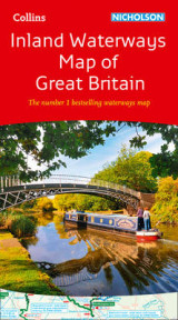 Omslag - Collins Nicholson Inland Waterways Map Of Great Britain [New Edition]