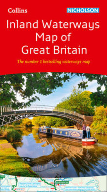 Collins Nicholson Inland Waterways Map of Great Britain av Collins Maps (Kart, falset)