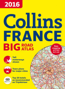 2016 Collins France Big Road Atlas av Collins Maps (Heftet)