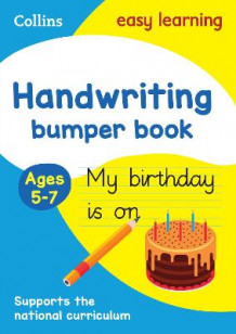 Handwriting Bumper Book Ages 5-7 av Collins Easy Learning (Heftet)