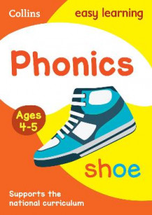 Collins Easy Learning Preschool: Phonics Ages 4-5 av Collins Easy Learning (Heftet)
