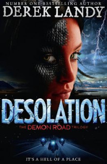 Desolation (the Demon Road Trilogy, Book 2) av Derek Landy (Innbundet)