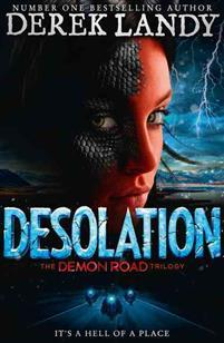 Desolation (the Demon Road Trilogy, Book 2) av Derek Landy (Heftet)