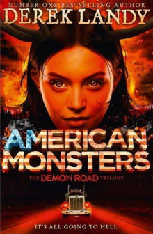 American Monsters av Derek Landy (Heftet)
