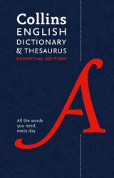 Omslag - Collins English Dictionary and Thesaurus