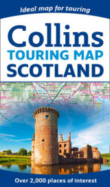 Omslag - Scotland Touring Map