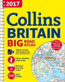 2017 Collins Big Road Atlas Britain av Collins Maps (Spiral)