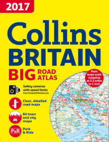 2017 Collins Big Road Atlas Britain av Collins Maps (Heftet)