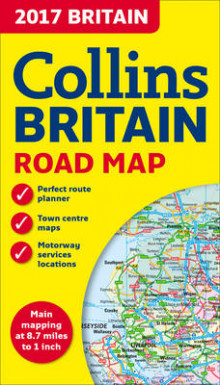 2017 Collins Map of Britain av Collins Maps (Kart, falset)
