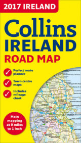 Omslag - 2017 Collins Map of Ireland