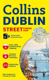 Omslag - Collins Dublin Streetfinder Colour Map