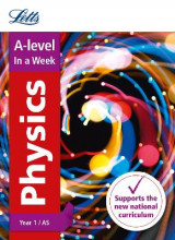 Omslag - A-Level Physics Year 1 (and AS) in a Week: Year 1/AS