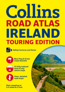 Collins Ireland Road Atlas av Collins Maps (Heftet)