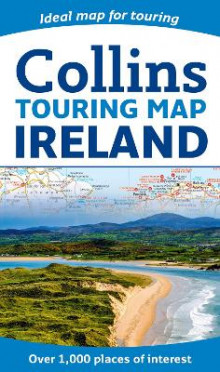 Collins Ireland Touring Map av Collins Maps (Kart, falset)