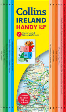 Collins Handy Map Ireland av Collins Maps (Kart, plano)