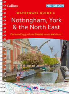 Nottingham, York & the North East: No. 6 av Collins Maps (Spiral)