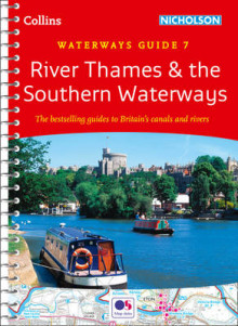 River Thames and Southern Waterways: No. 7 av Collins Maps (Spiral)