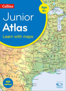 Collins Junior Atlas av Collins Maps (Heftet)