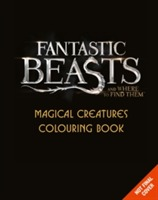 Omslag - Fantastic Beasts and Where to Find Them: Magical Creatures Colouring Book