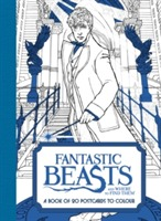 Omslag - Fantastic Beasts and Where to Find Them: A Book of 20 Postcards to Colour