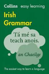 Omslag - Collins Easy Learning Irish Grammar: Easy Learning Irish Grammar
