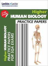 Omslag - CfE Higher Human Biology Practice Papers for SQA Exams