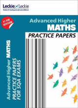 Omslag - CfE Advanced Higher Maths Practice Papers for SQA Exams