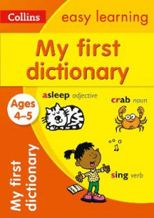 Collins My First Dictionary Ages 4-5 av Collins Easy Learning (Heftet)