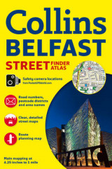 Omslag - Collins Belfast Streetfinder Colour Atlas