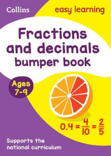Fractions & Decimals Bumper Book Ages 7-9 av Collins Easy Learning (Heftet)