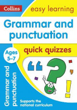 Omslag - Grammar & Punctuation Quick Quizzes Ages 5-7