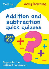 Omslag - Addition & Subtraction Quick Quizzes Ages 5-7